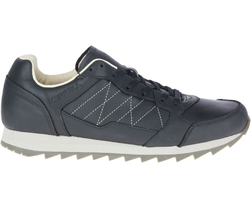 Alpine Sneaker Leather, Black, dynamic