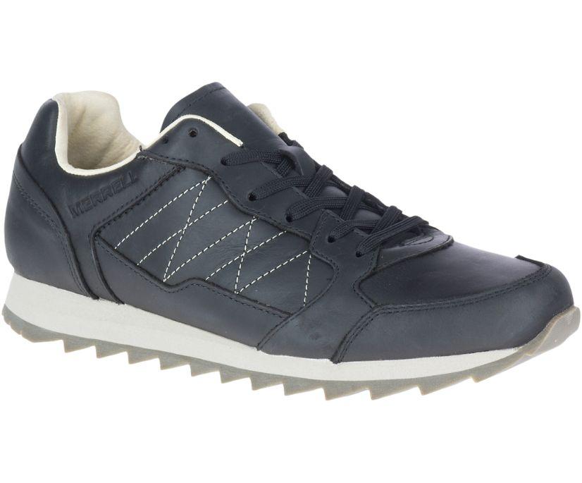 Alpine Sneaker Leather, Black, dynamic