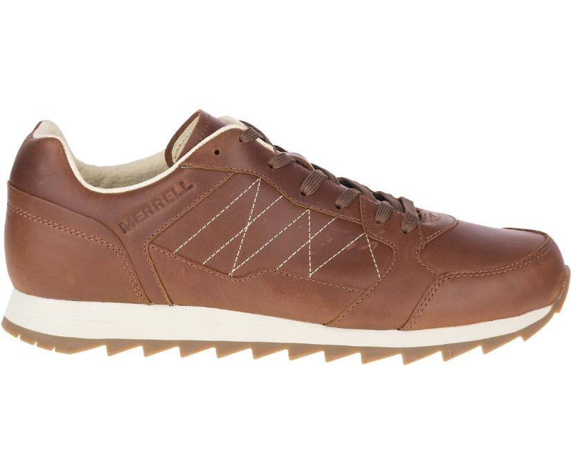 Alpine Sneaker Leather, Oak, dynamic