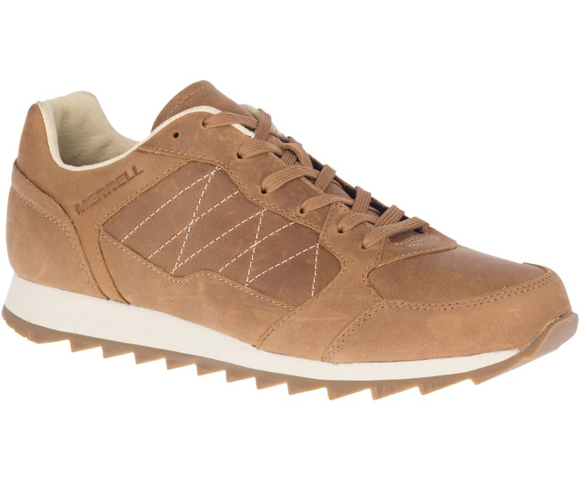 Alpine Sneaker Leather, Tobacco, dynamic