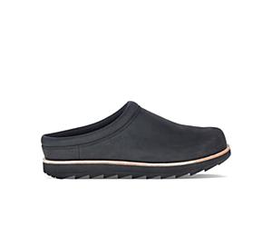 Juno Clog Leather, Black, dynamic