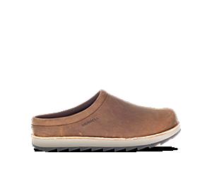 Juno Clog Leather, Walrus, dynamic