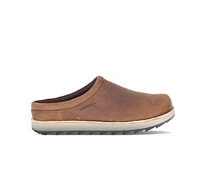 Juno Clog Leather, Walrus, dynamic