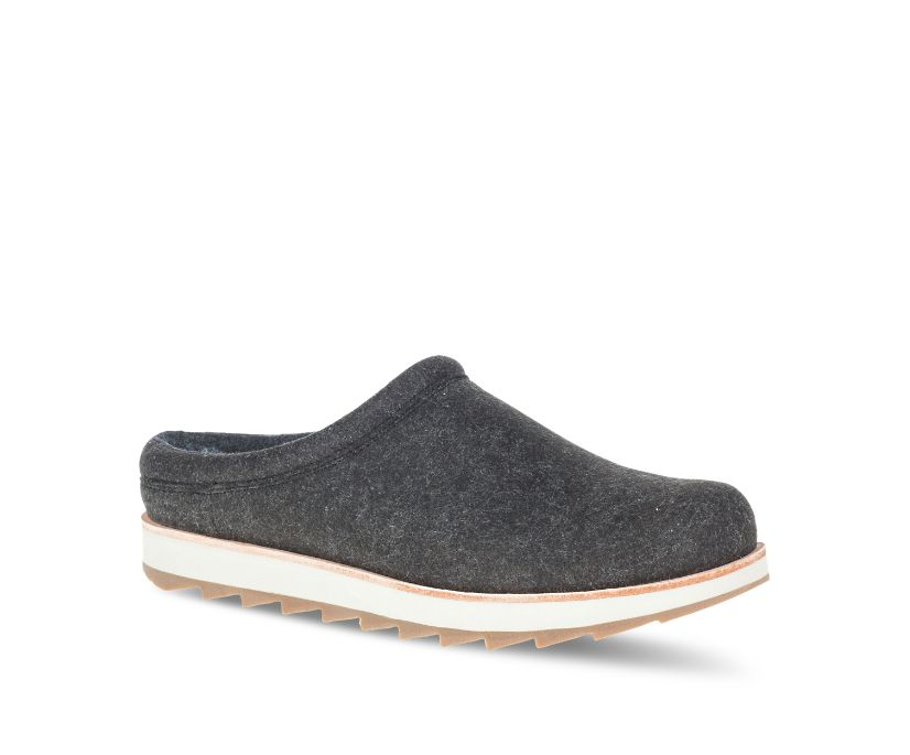 Juno Clog Wool, Black, dynamic