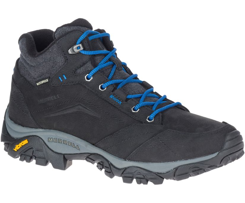 Moab Adventure Mid Polar Waterproof, Black/Blue, dynamic