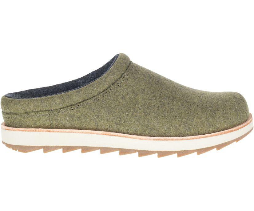 Juno Clog Wool, Olive, dynamic