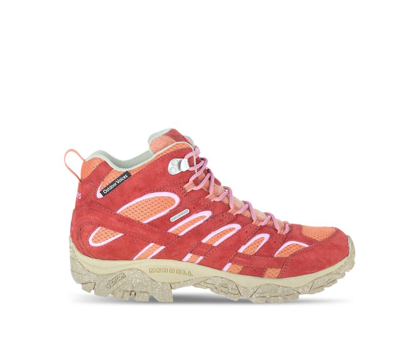 Moab 2 Mid Eco Waterproof X Outdoor Voices, Lava, dynamic