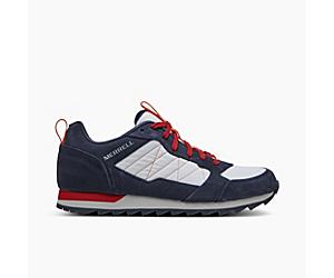 Alpine Sneaker, Navy/Chili, dynamic