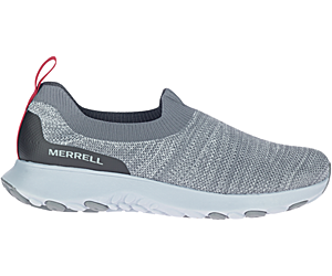 Merrell Cloud Moc Knit, Charcoal, dynamic