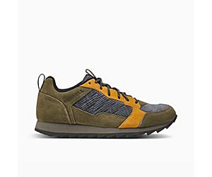 Alpine Sneaker, Olive Cord, dynamic