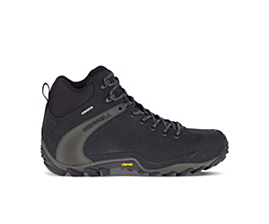 Chameleon 8 Leather Mid Waterproof, Black, dynamic