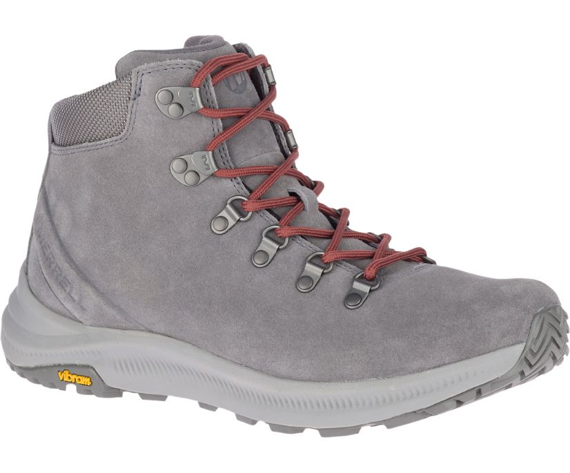 Ontario Suede Mid, Charcoal, dynamic
