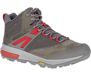 Zion Mid Waterproof, Merrell Grey, dynamic