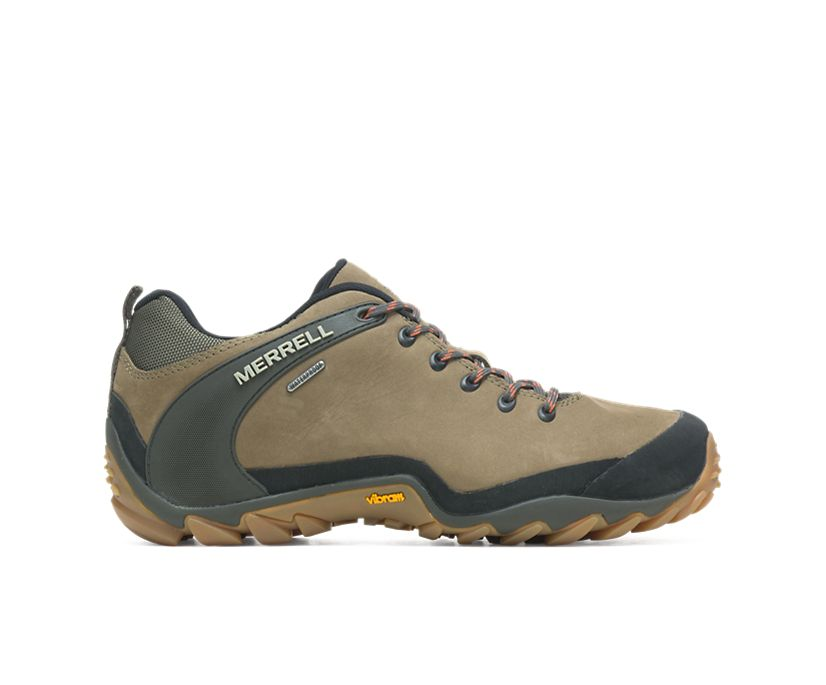 Chameleon 8 Leather Waterproof, Olive, dynamic