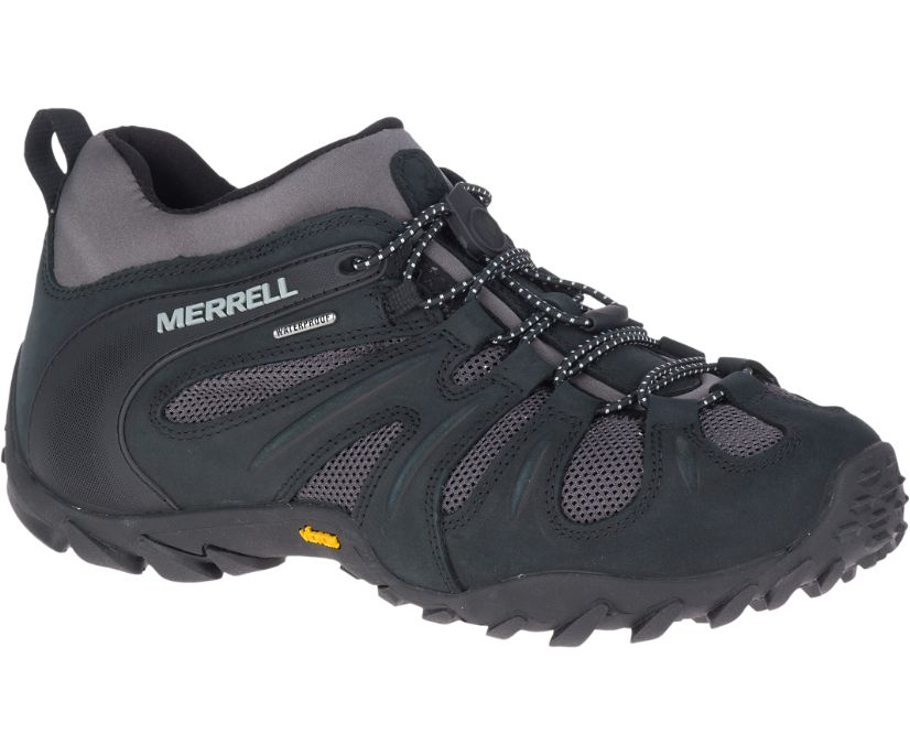Chameleon 8 Stretch Waterproof, Black/Grey, dynamic