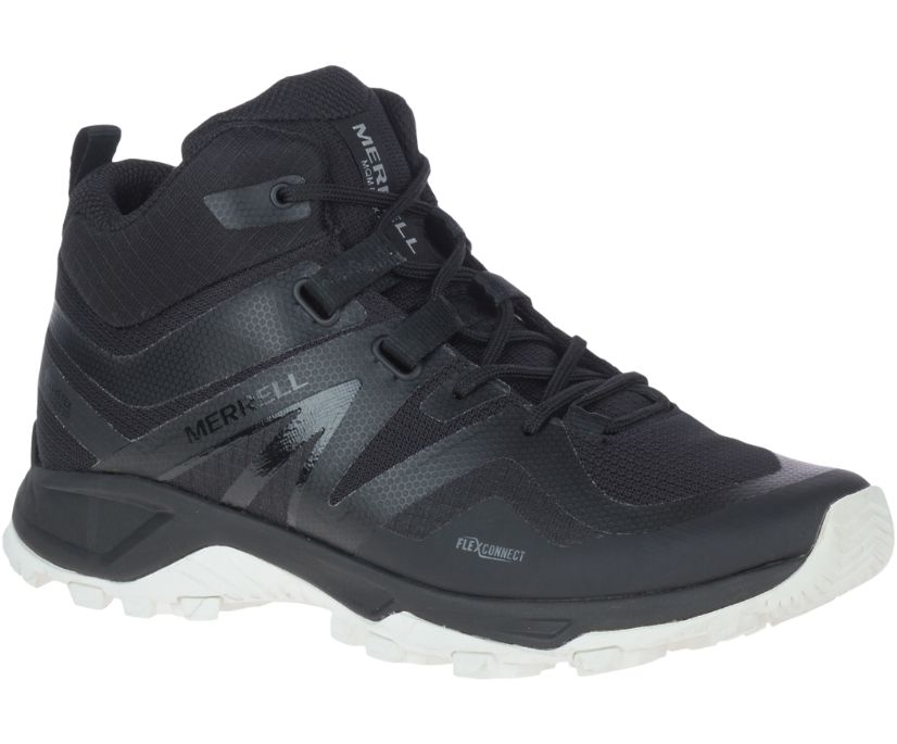 MQM Flex 2 Mid GORE-TEX®, Black/White, dynamic