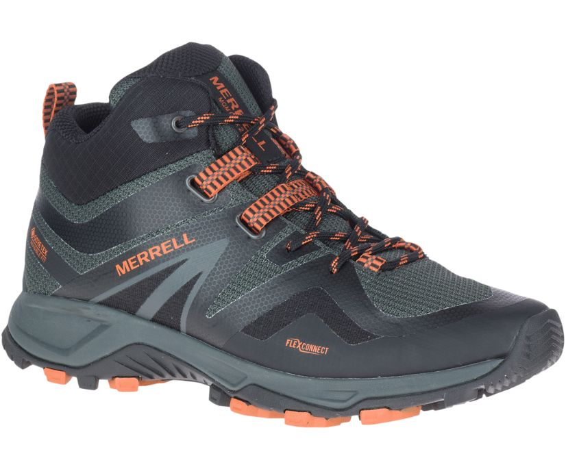 MQM Flex 2 Mid GORE-TEX®, Burnt/Granite, dynamic