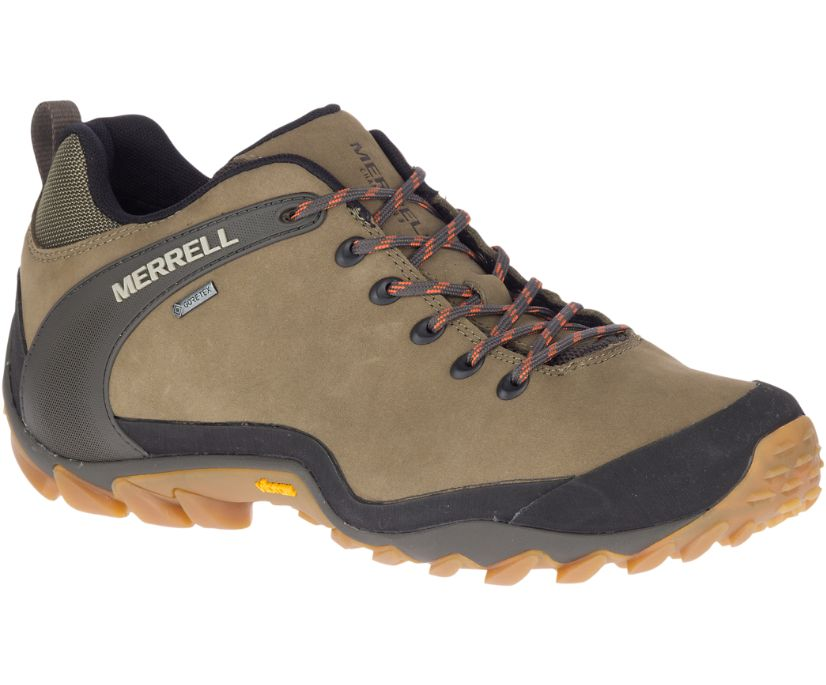 Chameleon 8 Low Leather GORE-TEX®, Olive, dynamic