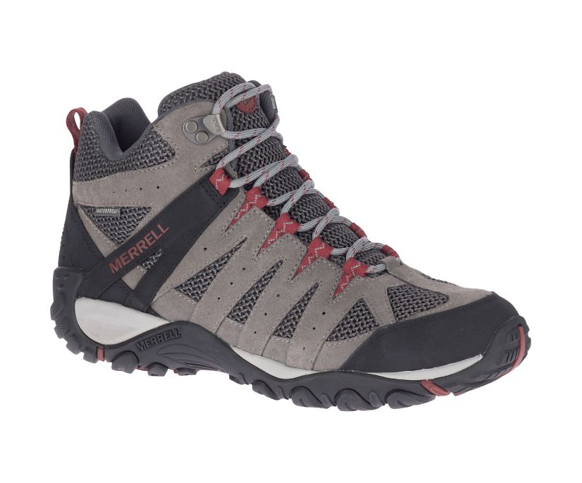 Accentor 2 Mid Ventilator Waterproof, Charcoal/Sable, dynamic