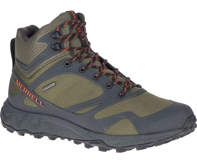 Altalight Mid Waterproof, Olive, dynamic