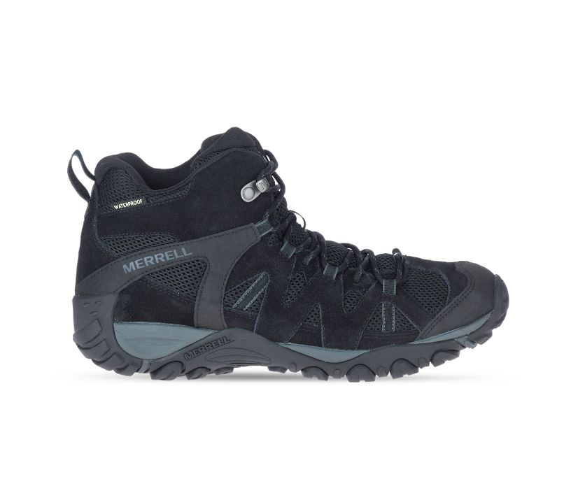 Deverta 2 Mid Waterproof, Black/Granite, dynamic