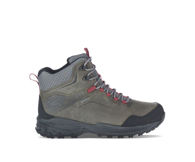 Forestbound Mid Waterproof, Merrell Grey, dynamic