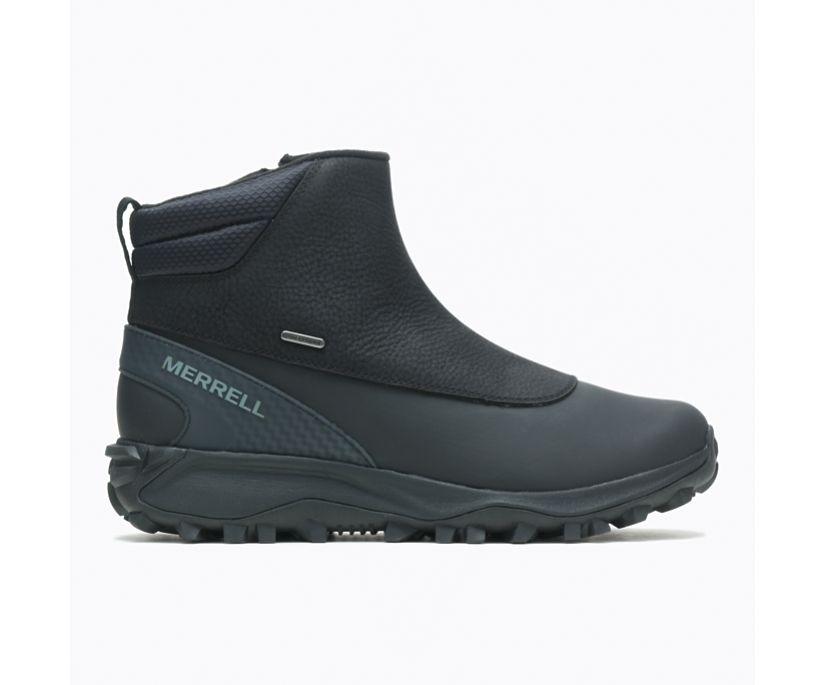 Thermo Kiruna Mid Zip Waterproof, Black/Monument, dynamic