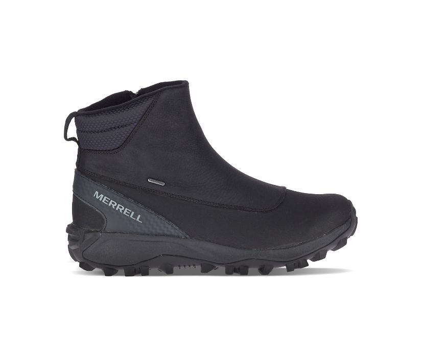 Thermo Kiruna Mid Zip Waterproof, Black/Monument, dynamic
