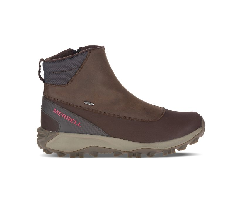 Thermo Kiruna Mid Zip Waterproof, Clay, dynamic