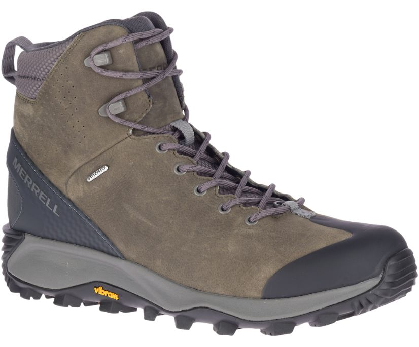 Thermo Glacier Mid Waterproof, Merrell Grey, dynamic