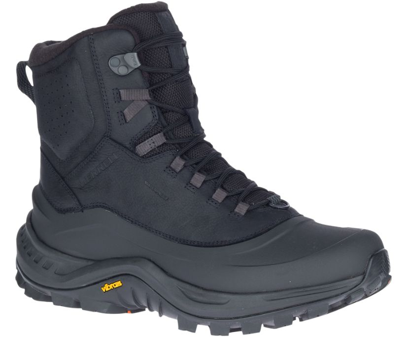 Thermo Overlook 2 Mid Waterproof Wide Width, Black, dynamic