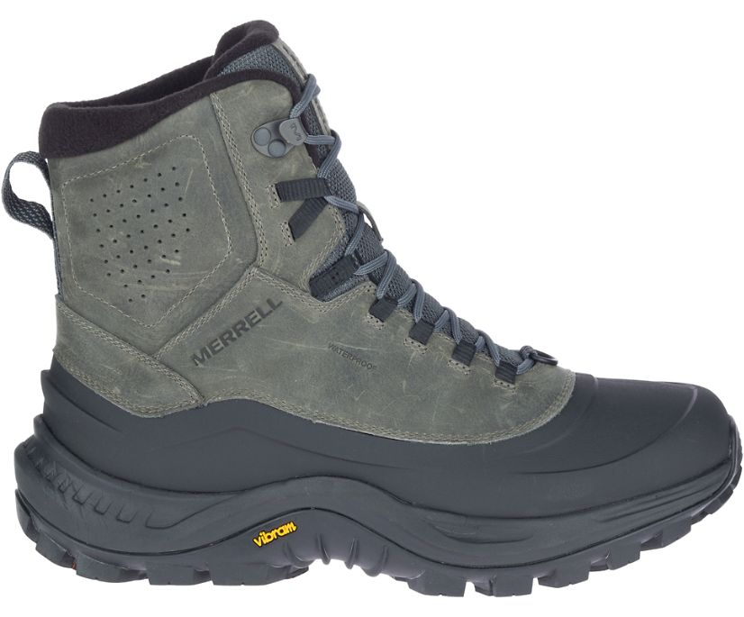 Thermo Overlook 2 Mid Waterproof, Merrell Grey, dynamic