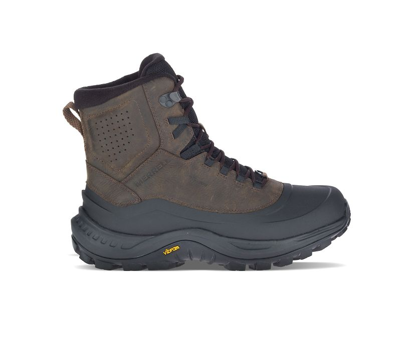 Thermo Overlook 2 Mid Waterproof, Seal Brown, dynamic