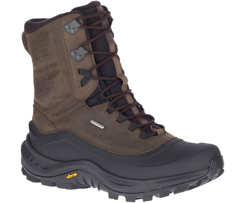 Thermo Overlook 2 Tall Waterproof, Seal Brown, dynamic