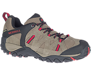 Deverta 2 Waterproof, Boulder/Fiery Red, dynamic