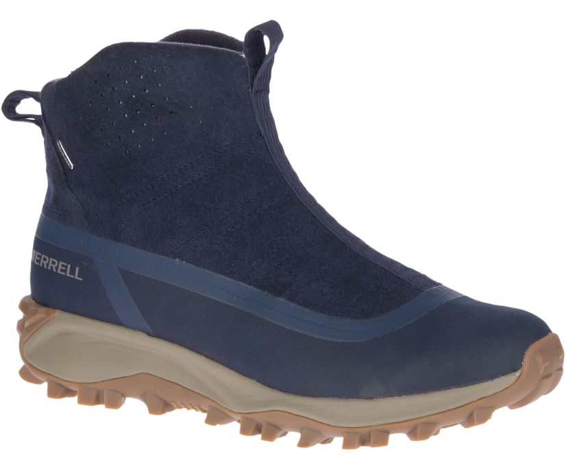 Thermo Snowdrift Zip Mid Shell, Navy, dynamic