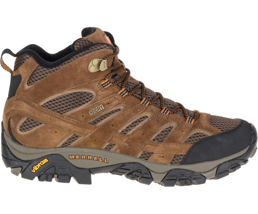 Moab 2 Mid Waterproof Wide Width, Earth, dynamic