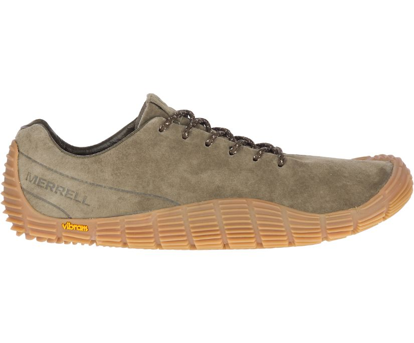 Move Glove Suede, Olive, dynamic