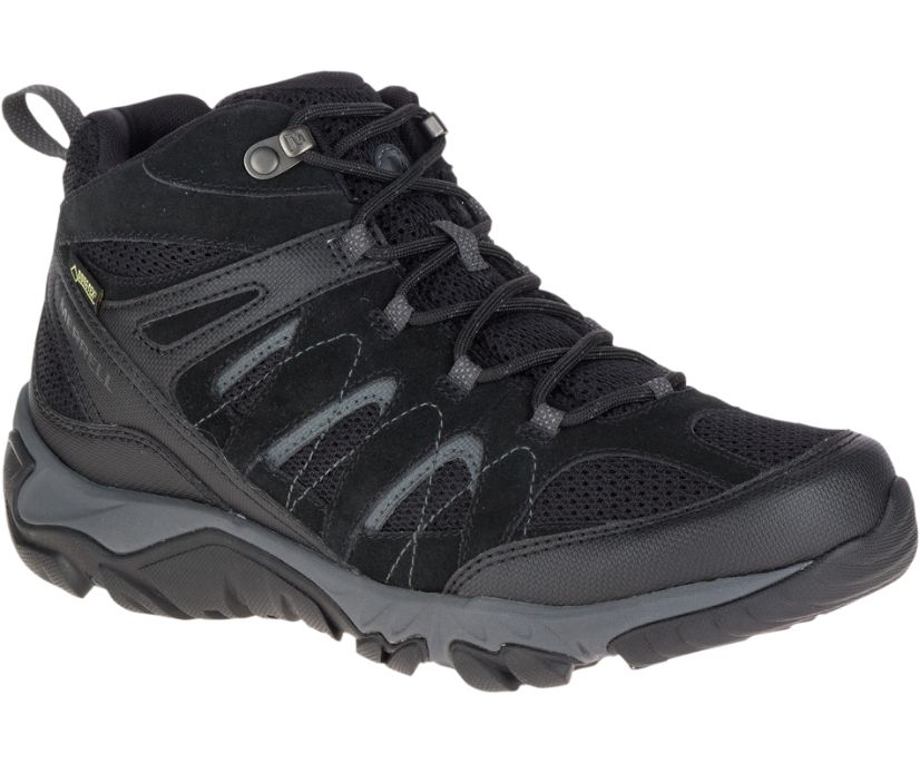 Outmost Mid Ventilator GORE-TEX®, Black, dynamic