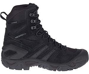 "Strongfield Tactical 8"" Waterproof Boot, Black, dynamic"