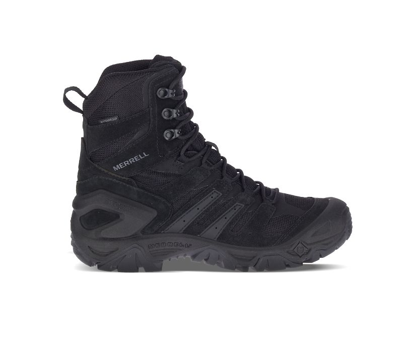 """Strongfield Tactical 8"""" Waterproof Boot, Black, dynamic"""
