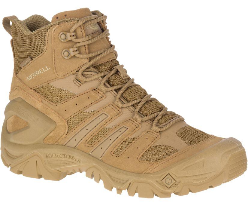 "Strongfield Tactical 6"" Waterproof Boot, Dark Coyote, dynamic"