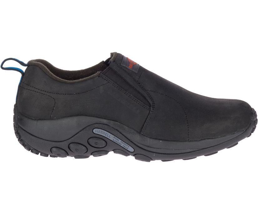 Jungle Moc Leather SR Work Shoe Wide Width, Black, dynamic