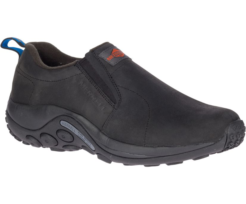 Jungle Moc Leather SR Work Shoe, Black, dynamic