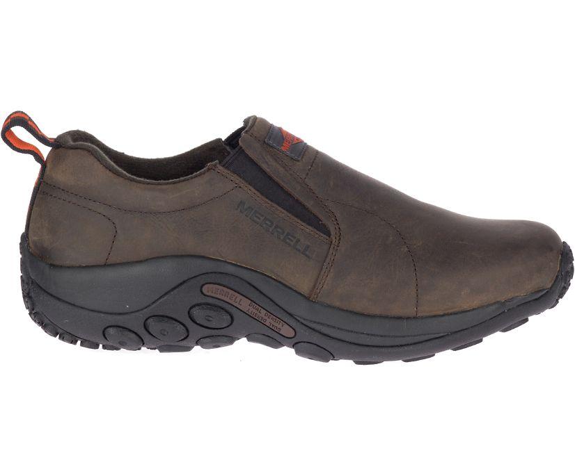 Jungle Moc Leather SR Work Shoe Wide Width, Espresso, dynamic