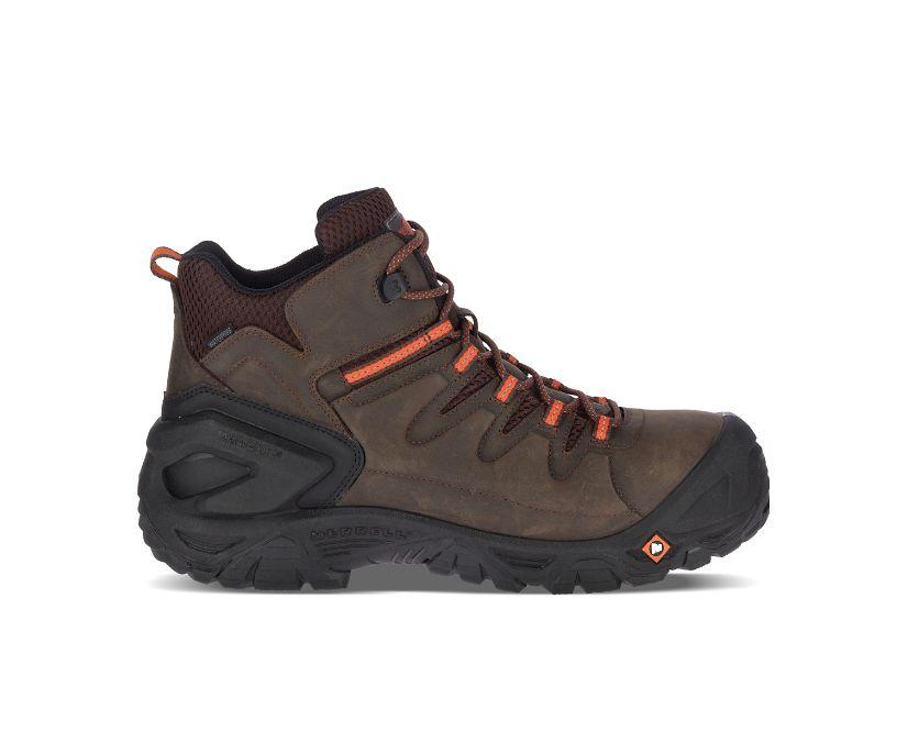 "Strongfield Leather 6"" Waterproof Comp Toe Work Boot, Espresso, dynamic"