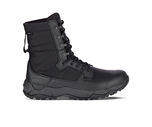 MQC Patrol Waterproof Boot Wide Width, Black, dynamic