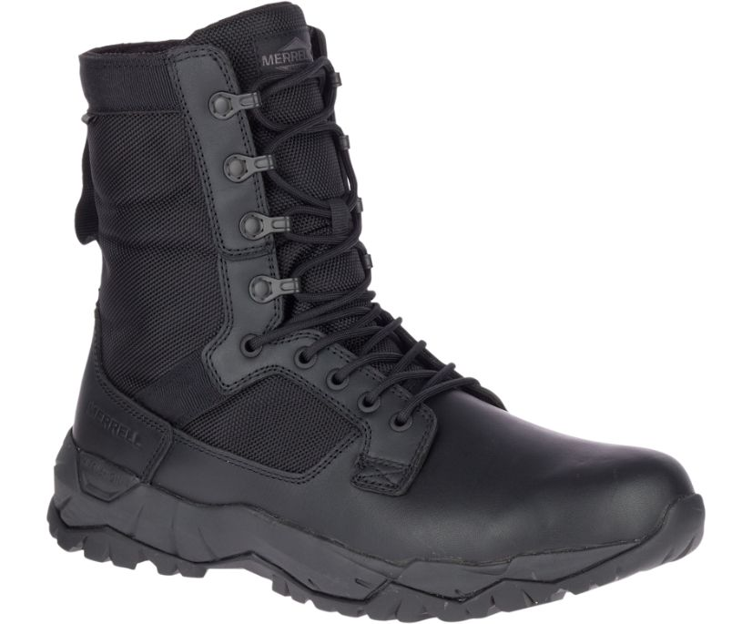 MQC Patrol Waterproof Boot, Black, dynamic