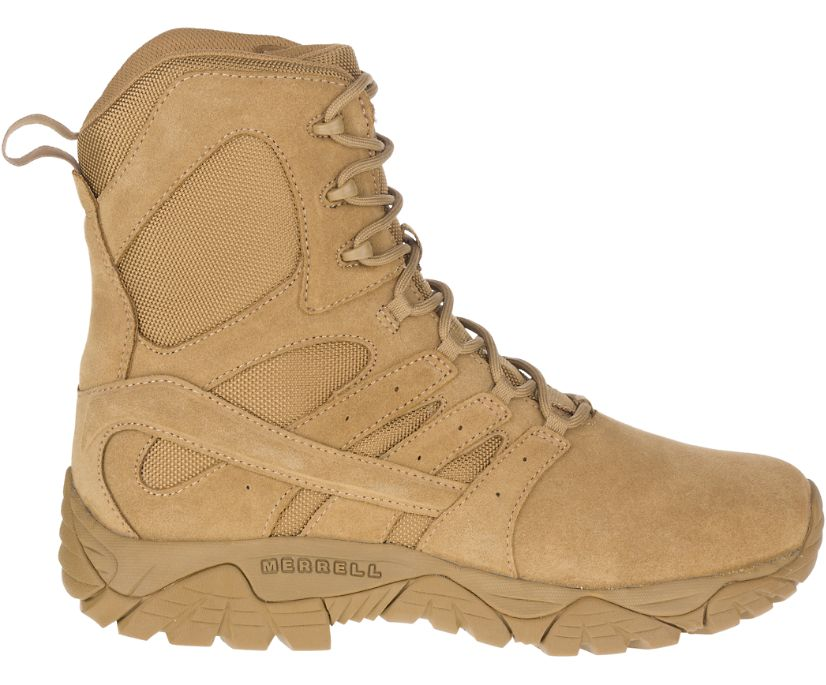 Moab 2 Defense Boot Wide Width, Dark Coyote, dynamic