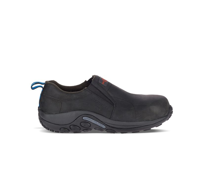 Jungle Moc Leather Comp Toe SD+ Work Shoe Wide Width, Black, dynamic
